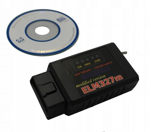 Interfejs FORD MSCAN HSCAN BT ELM327 bluetooth tdc